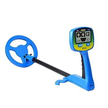 SHUOGOU Detectores de Metales más Nueva Educación de la Ciencia para los niños de la Actividad de playa Tesoro Caza Herramienta de Detección de Monedas: ...