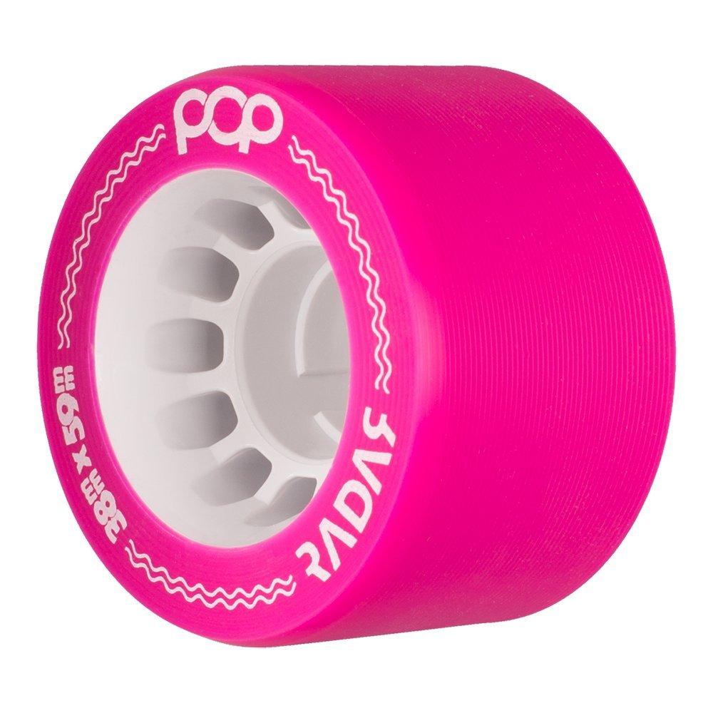 Riedell Radar Pop 59mm Roller Derby Wheels Pink 93a (4PK)