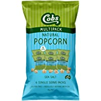Cobs Sea Salt Gourmet Natural Popcorn Multipack, 78 g