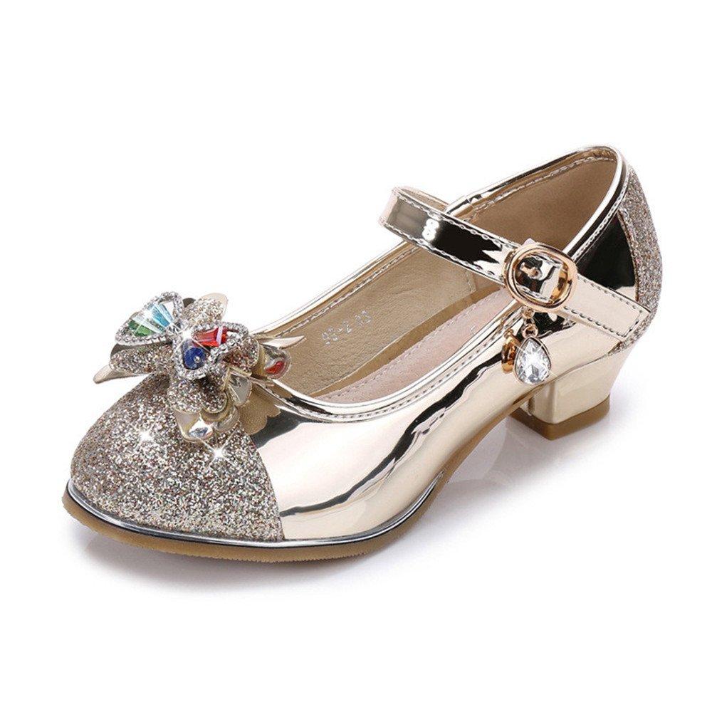 PRETTYHOMEL Little Girls Pretty Party Dress Pumps Toddler Girl Heels Shoes Pump Sandals