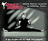 Chuck Norris 2018 Day-at-a-Time Box Calendar