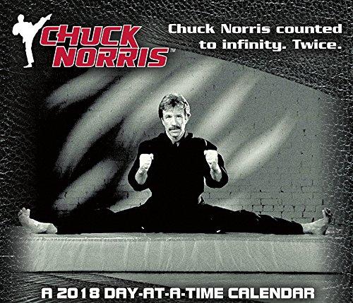 Chuck Norris 2018 Day-at-a-Time Box Calendar