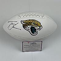 $499 » Autographed/Signed Trevor Lawrence Jacksonville Jaguars Full Size F/S White Panel Logo Football Fanatics COA