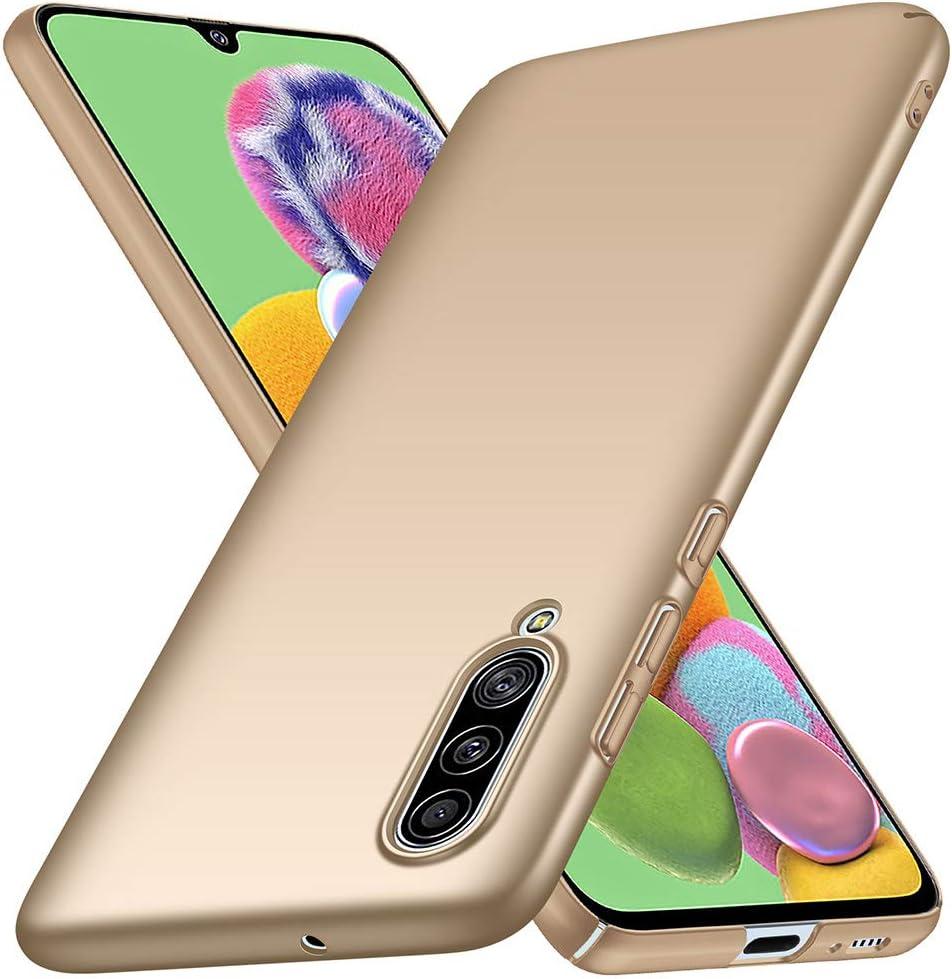 YIIWAY Funda Samsung Galaxy A90 5G, Oro Ultra Slim Protectora ...