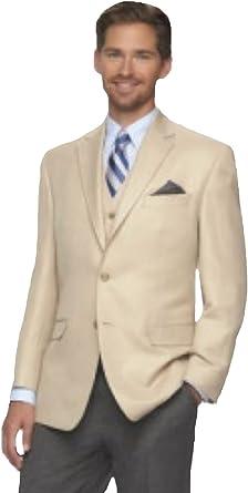 Chaps Mens Suit Separates Linen Classic Fit Sport Coat, Natural at Amazon  Men's Clothing store