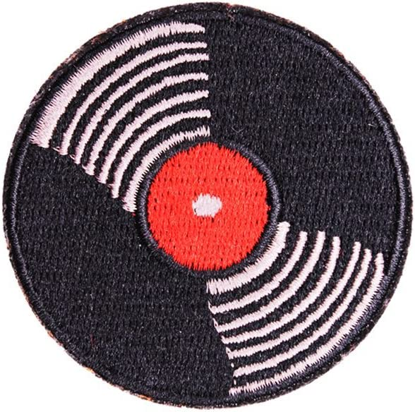 3pcs Red Lips Patch for Jackets Jeans Hats Backpacks U-Sky Sew or Iron on Patches for Clothes