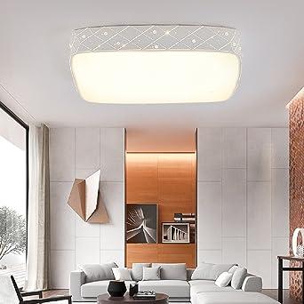 Incroyable LED Kristall Deckenleuchte Sternenhimmel Kaltweiß Starlight Eckig Deckenbeleuchtung  Wohnzimmer Korridor Deckenlampe Morden Rechteck Küche Leuchte Weiße ...