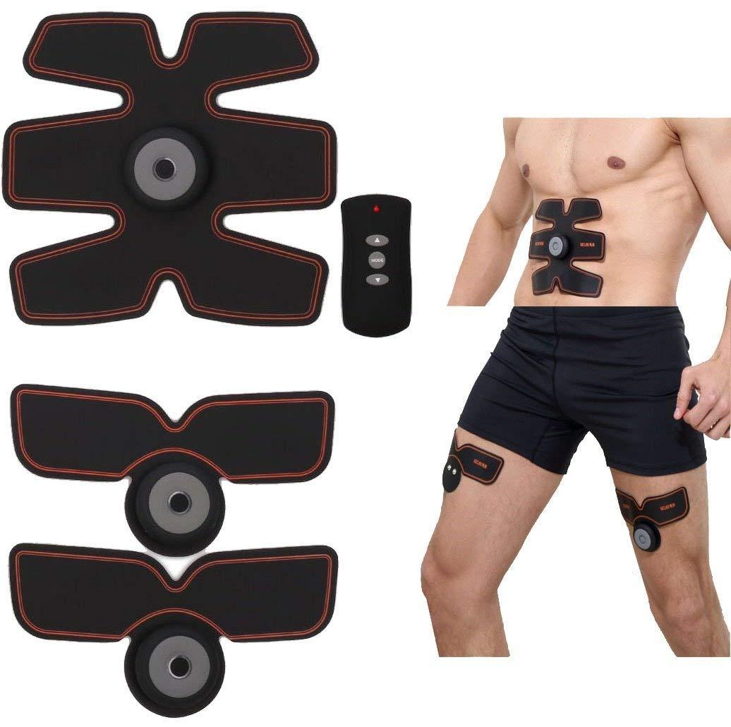 Elektrische Stimulatoren, EMS Muskeltoner, ems trainingsgerät,Gymnastik Training und Hauptfitness Körpertaillenmuskeln Stimulator Eignungs Ausrüstung