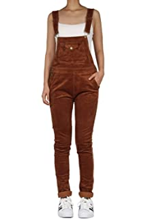 1f26124d27f Amazon.com  G-Style USA Women s Corduroy Overalls  Clothing