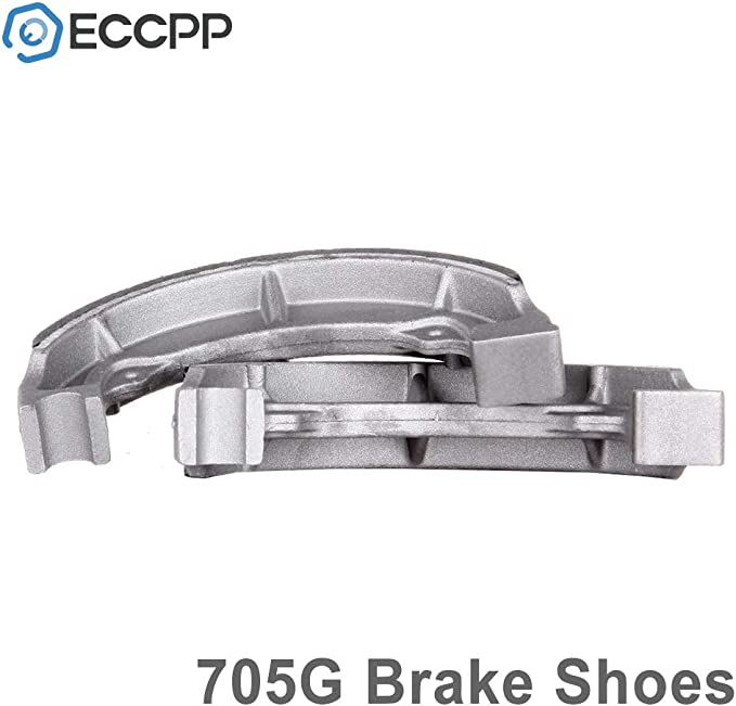 ECCPP/® Fits 1988-2002 Kawasaki Bayou 220 KLF220A 2003-2010 Bayou 250 KLF250A Front Brake Shoes