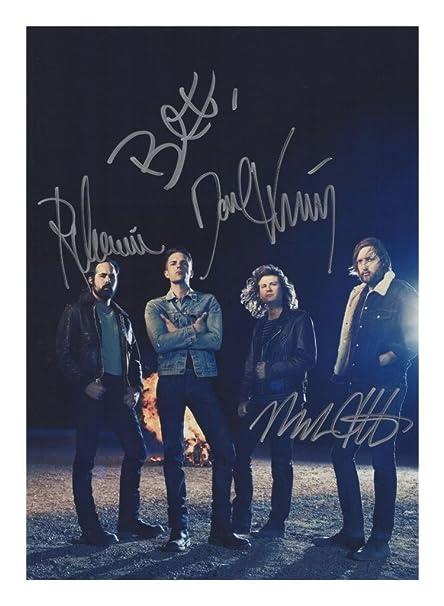 Muse Autographed Signed A4 21cm x 29.7cm Photo Poster
