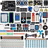 Smraza UNO R3 Starter Kit for Arduino with Tutorials and 9V 1A Power Supply Compatible with Arduino UNO R3 Mega2560 Nano (40 Projects)