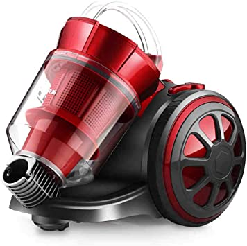 Aspirador de alta potencia rojo de 14000 vatios con filtro HEPA ...