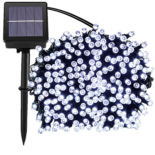 Solar Panel Christmas Lights Outdoor in US - 5