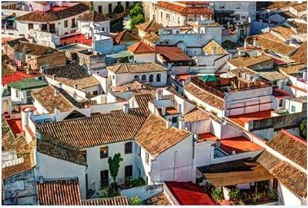 ZZXSY Puzzles 1000 Piezas Adultos Vista Aérea De La Ciudad De Córdoba En España. Paisaje Urbano con Arquitectura Antigua Y Techos Rojos Tradicionales Adecuado para La Decoración del Hogar.: Amazon.es: Hogar