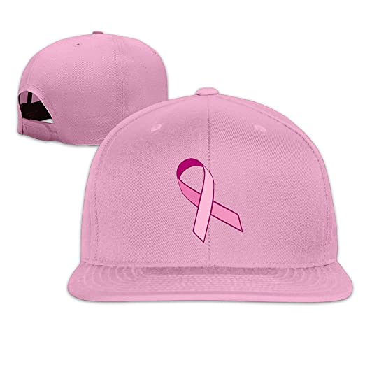 fd9e4433470d2 Amazon.com  Pink Ribbon Breast Cancer Awareness Snapback Caps Flat Brim Baseball  Cap (6700021068082)  Books