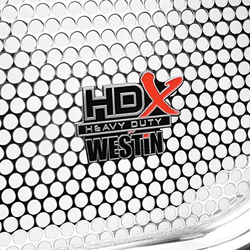 Westin 57-3550 HDX Polished Grille Guard ()