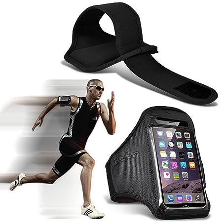 I-Sonite (Black) Justierbarer Sweatproof/Wasser-beständiger Sport-Eignungs-Laufender Turnhallen-Armband-Telefon-Fall für Doog