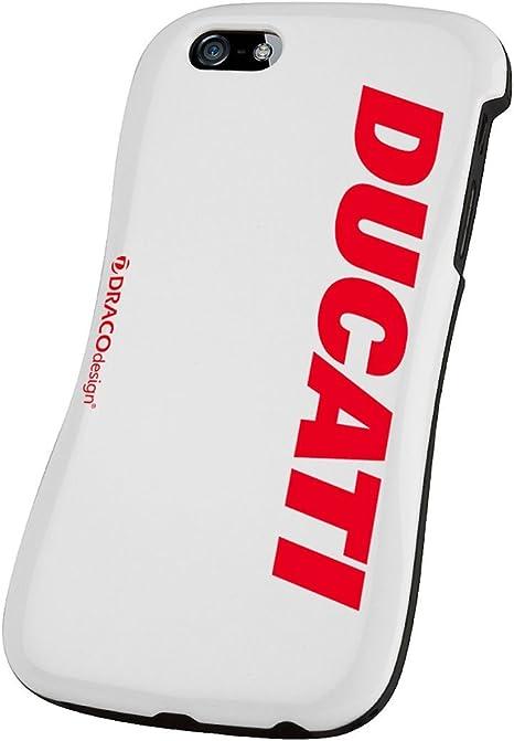 Ducati Draco Allure Coque de protection pour iPhone 5/5S/SE Blanc