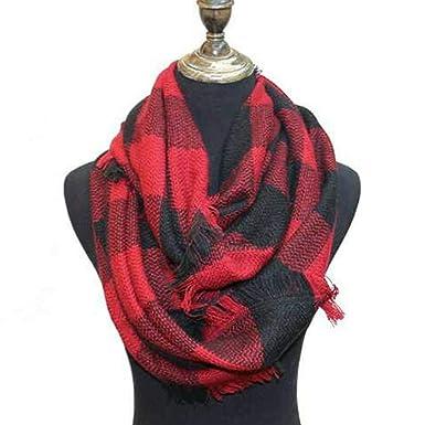 Cachemire écharpe à motif écossais chaud à motif écharpe femme modèle  automne hiver écharpes (rouge 879d2082073