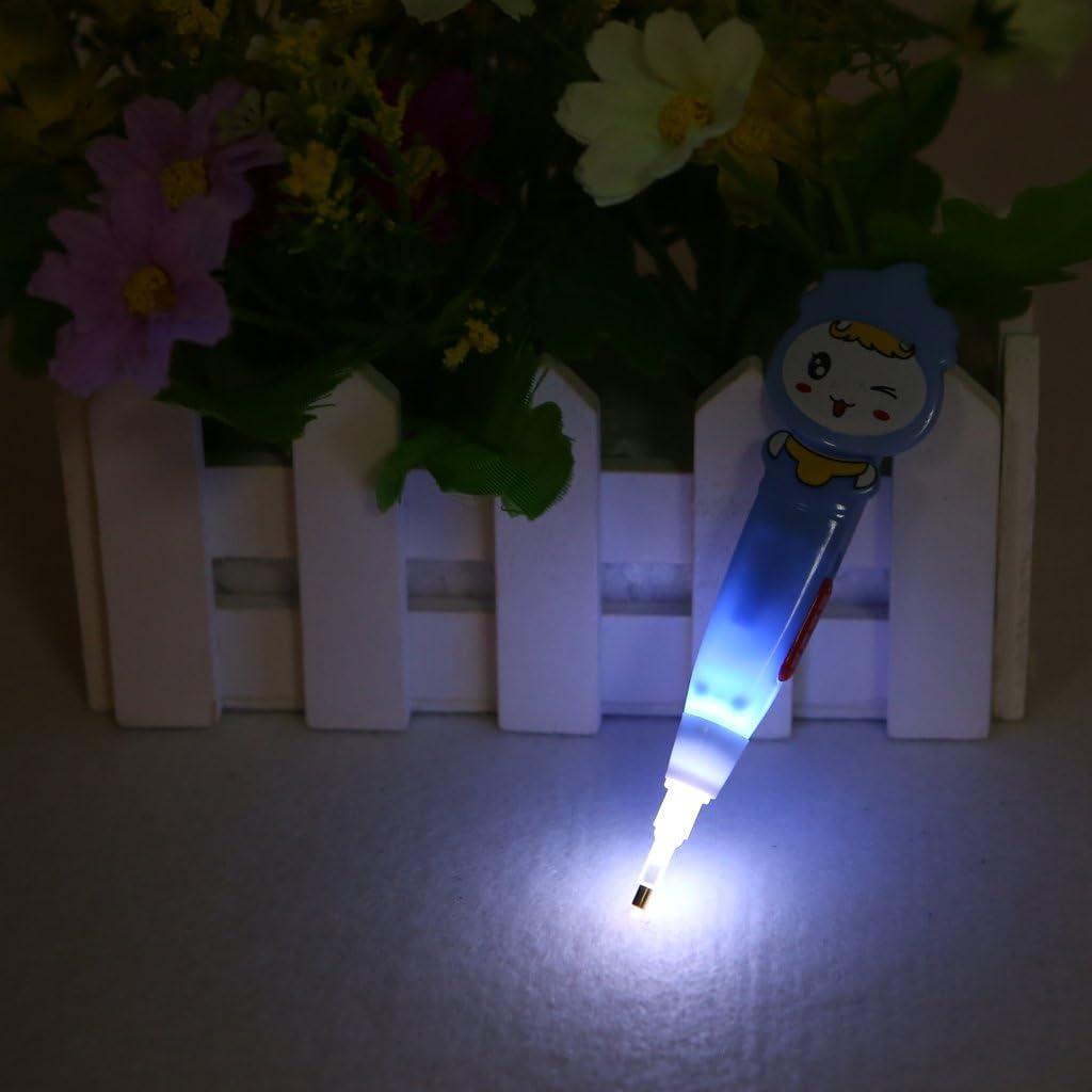 Dabixx 5D Diamond Painting Cross Stitch Embroidery Point Drill Pen 4 Heads w//LED Light Blue Girl