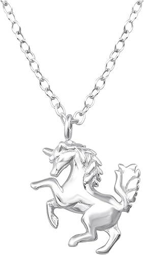 Laimons Ciondolo da donna a forma di cuore in argento Sterling 925 lucido
