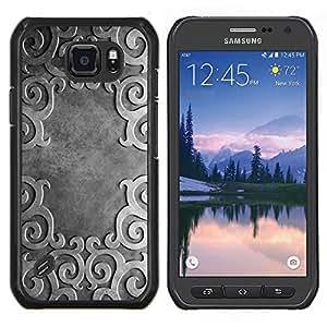Be-Star Único Patrón Plástico Duro Fundas Cover Cubre Hard Case Cover Para Samsung Galaxy S6 active / SM-G890 (NOT S6) ( Ancient Pattern )
