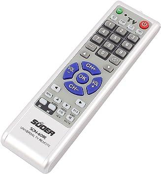 Batería de plástico Alimentación universal control remoto del televisor Controlador SON-609E: Amazon.es: Electrónica