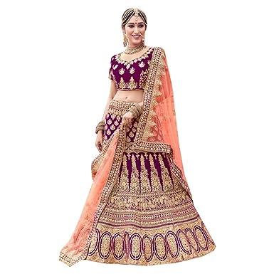 8529 Green Bridal Lehenga Choli Gharara Dupatta Skirt Falda Set ...