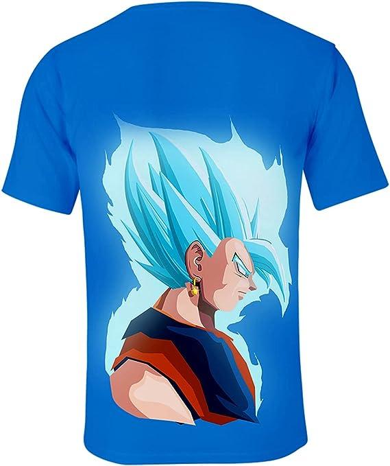 Hifoda Camiseta Cool Anime con Impresiones de Goku Saiyan ...