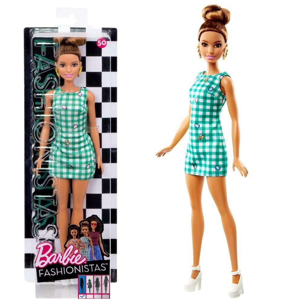 Amazon.es: Barbie - Fashionistas 50 - Original - Muñeca en Vestido ...