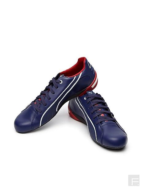Puma Nyter BMW - Zapatillas de Piel para Hombre Azul Azul Marino 42,5 EU, Color Azul, Talla 40,5 EU: Amazon.es: Zapatos y complementos