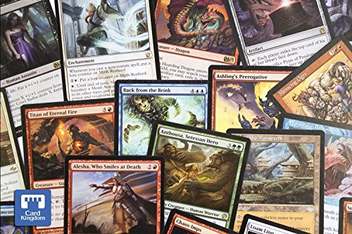 Magic: the Gathering – Magic the Gathering 100 count Rares/Uncommons only Lot – Magic the Gathering Bulk Products