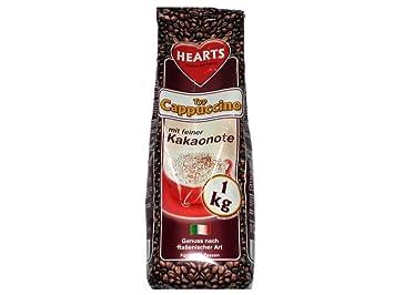 Más rico Cappuccino 10 kg (10 x 1 kg aproximadamente 800 tazas=) Cappuccino