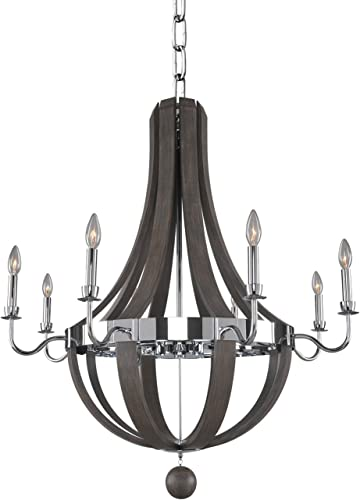 Kalco Lighting 300484CH 8 Light Chandelier