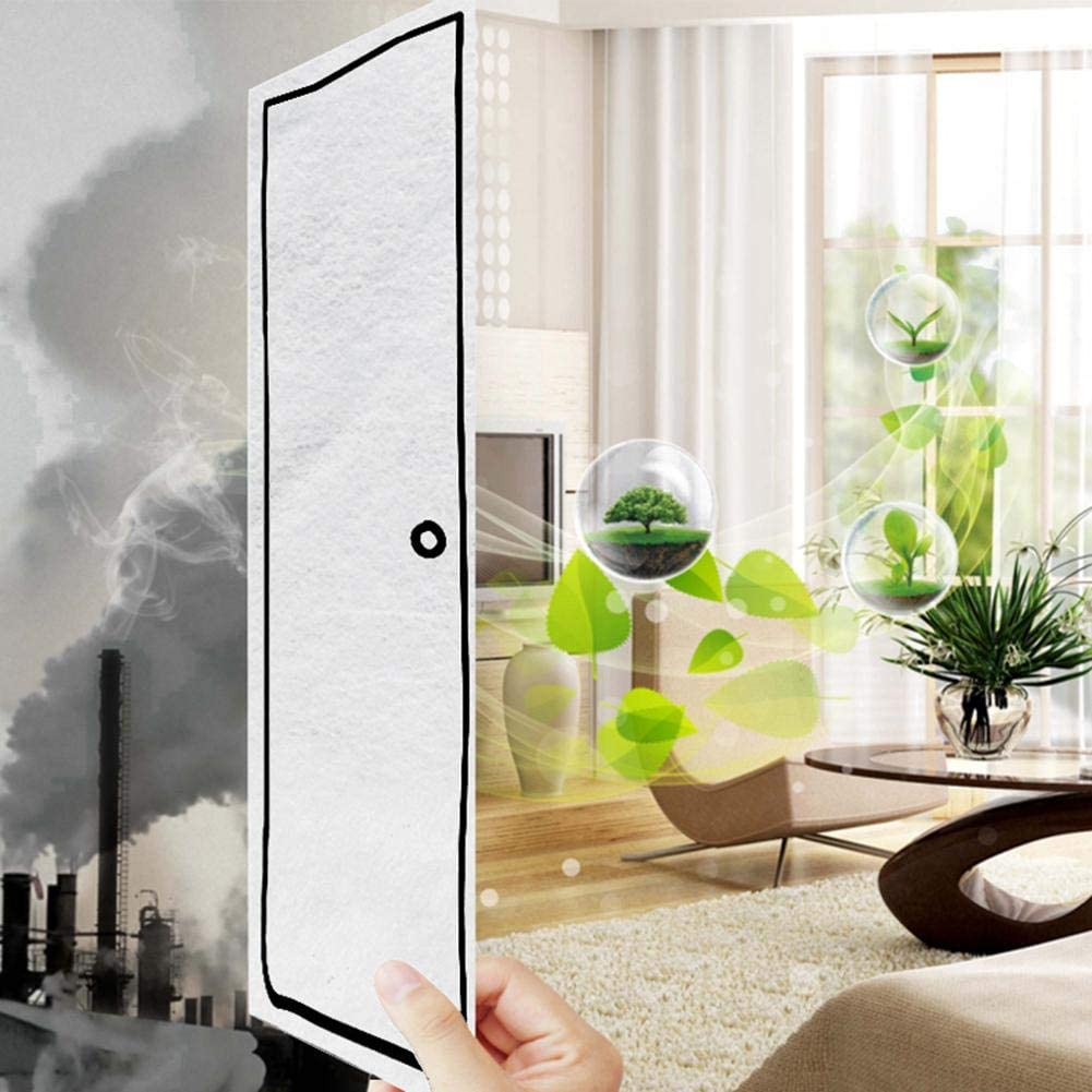 Universal Air Filter Liver Air Filter PM2.5 Particles 2S Owlhouse Electrostatic Cotton Dust-Proof Air Filter for Millet Rice 1//2 10PCS