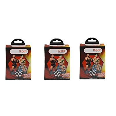 WWE 20 pc Bandages x 3 Pack 54224, Multicolor: Toys & Games