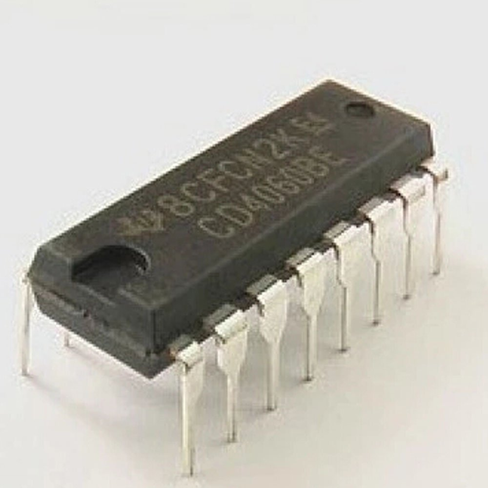 Texas Instruments Cd4060be Ic Cmos 14 Stage Ripple Carry Binary How To Make Interesting 4060 Circuits Counter Divider And Oscillator Pack Of 1 Transistors Industrial Scientific