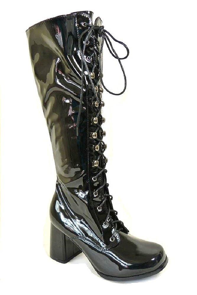 85e9c7afdafd SEXYCA Ladies Womens Fancy Dress Party GO GO Boots 60s 70s Retro Size 3 4 5  6 7 8 Various Designs TM  Amazon.co.uk  Shoes   Bags