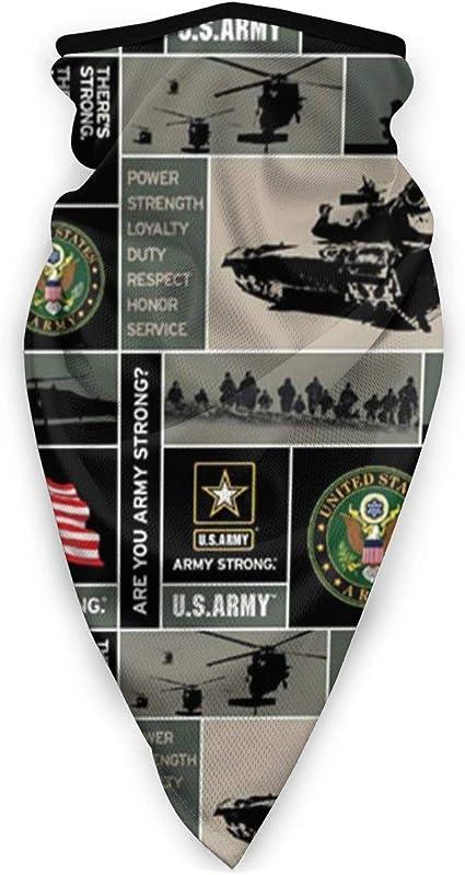 US Army Veteran Aviation Outdoor Face Mouth Mask Windproof Sports Mask Ski Mask Shield Scarf Bandana Men Woman