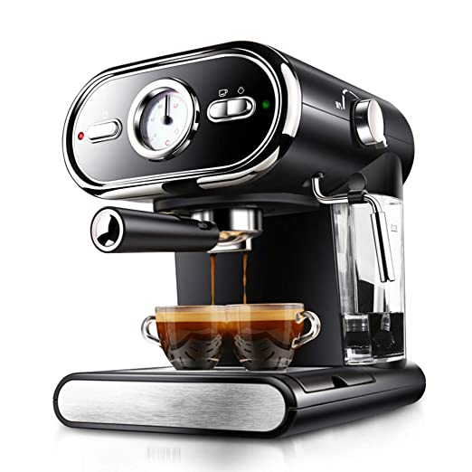 Jinxin-Maquina de cafe Cafetera Casa 1000W Pequeña Semi-automática ...