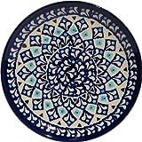 Polish Pottery Plate 6.5 Inch From Zaklady Ceramiczne Boleslawiec #Gu-818-217a Traditional Pattern, 6.5 Inch Diameter