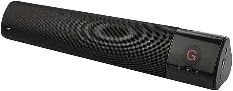 Altavoz Bluetooth inal/ámbrico para TV con Super Bass y HD Audio casa Altavoces Bluetooth 4.0 wm1300 Negro Barra de Sonido