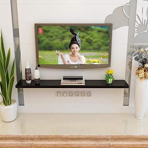 LTJTVFXQ-shelf Gabinete de TV montado en la Pared Fondo de TV Decoración de la Pared