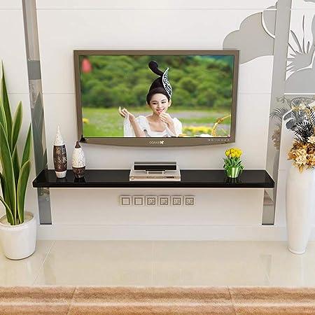 LTJTVFXQ-shelf Gabinete de TV montado en la Pared Fondo de TV ...