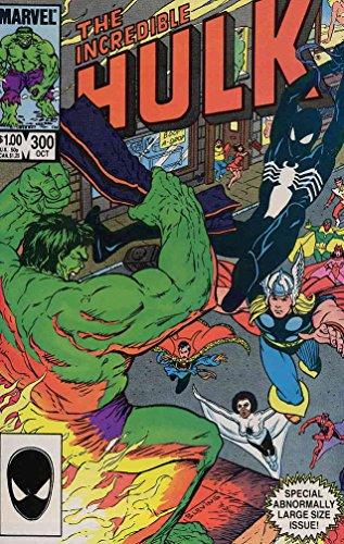 Incredible Hulk, The #300 VF/NM ; Marvel comic book -