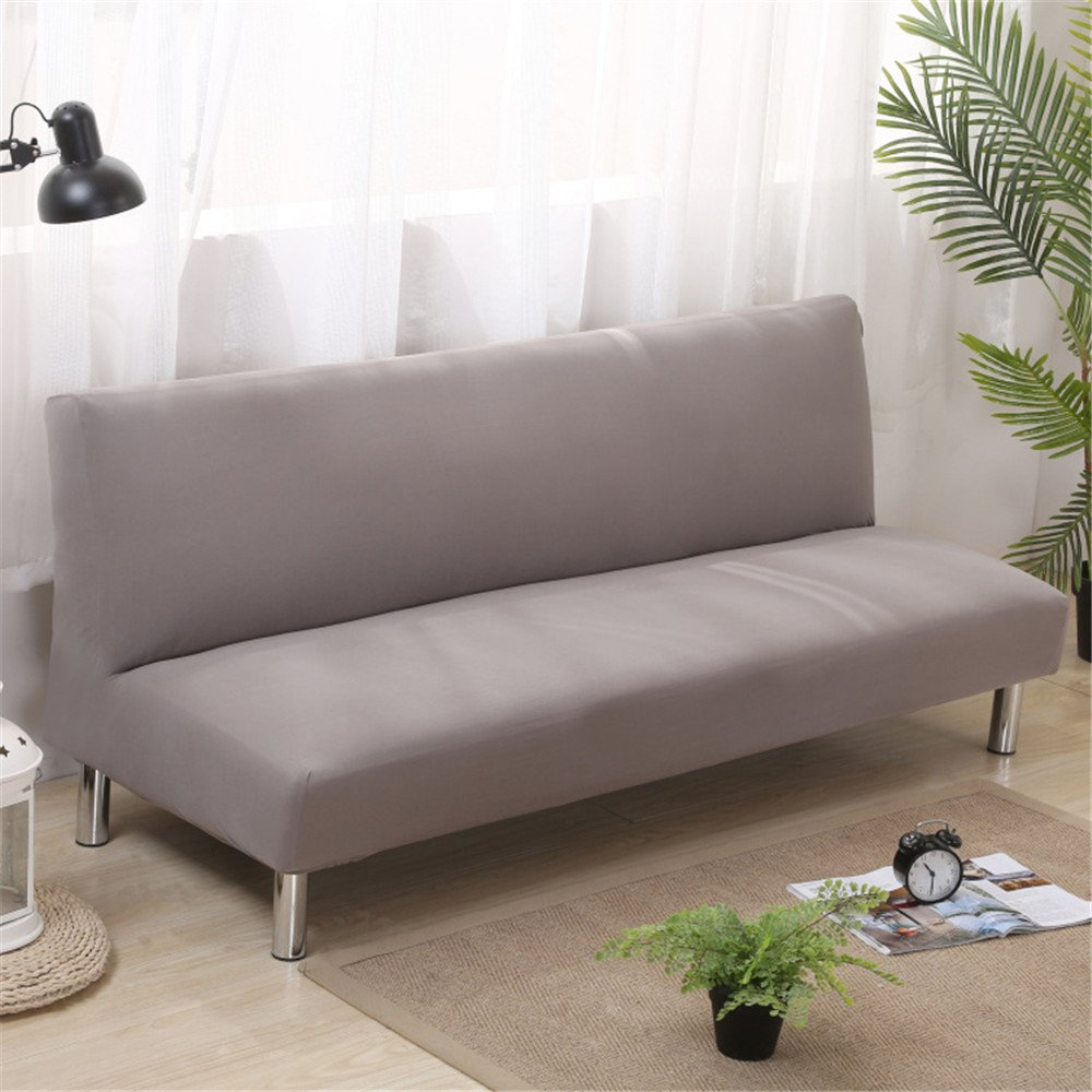 Surprising Chitone Removable Grey Sofa Bed Covers For Living Room Universal Stretch Furniture Covers Armless Couch Sofa Slipcovers Anti Dirty Cover Bralicious Painted Fabric Chair Ideas Braliciousco