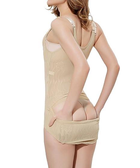 9afb41c45fc71 FUT Women s Butt Lifter Panty Shapewear Open Bust Tummy Control Body ...