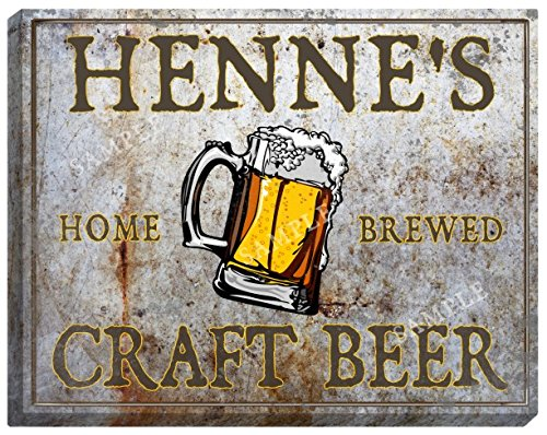 hennes-craft-beer-stretched-canvas-sign-24-x-30