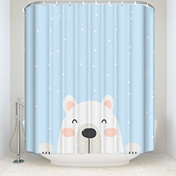 Amazoncom Picture It On Canvas Hand Drawn Cute Cartoon Bear Shower